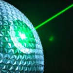 Spaceship Earth At Epcot Turned Into Death Star With Working Super Laser