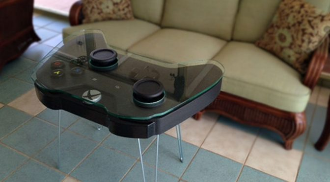 Xbox One Game Controller Coffee Table Is Xbox Fanboys' Dream Come True