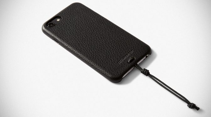 KILLSPENCER's New Leather Snap-on iPhone Case: Simple, Beauty