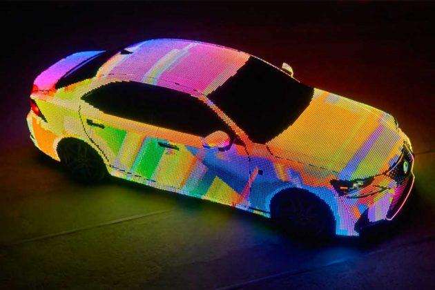 Lexus LED-covered LIT IS Luxury Sedan