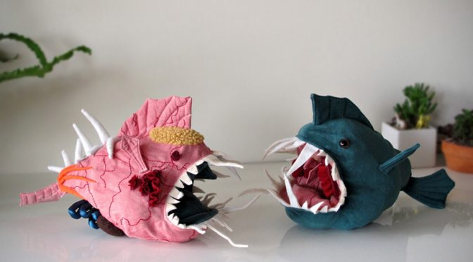Meet Morris, A Fish Plush Toy That You Can Turn Inside Out To See Its Innards