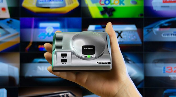 RetroEngine Sigma Retro Gaming Game Console