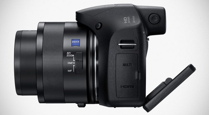 Sony Announces Compact 50x Zoom Cyber-Shot HX350 Outside Of U.S.