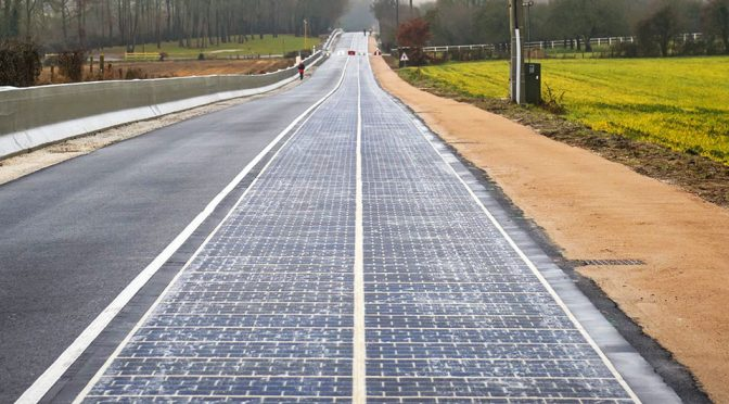 A Kilometer Long Solar Road Opens In France For A Two-year Trial