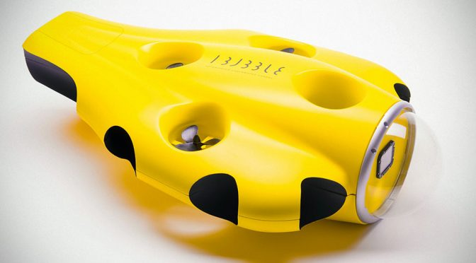This Is iBubble, The Underwater Equivalent Of An Aerial Imaging Drone