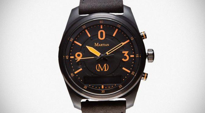 Martian Watches' New Smartwatch Puts Amazon Alexa On Your Wrist