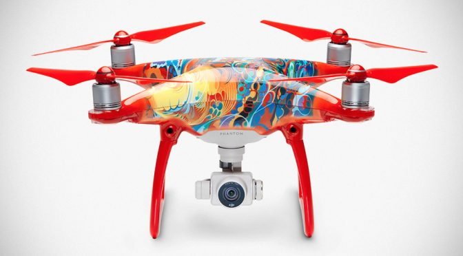 DJI Gives Phantom 4 An Oriental Makeover For Chinese New Year
