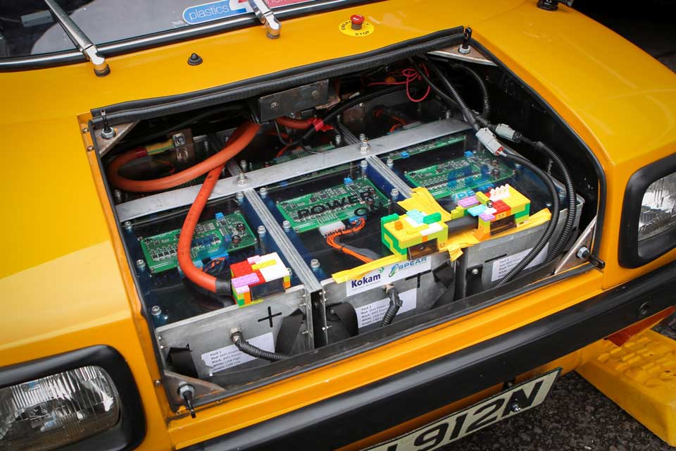 """Enfield 8000 """"Flux Capacitor"""" Electric Vehicle"""