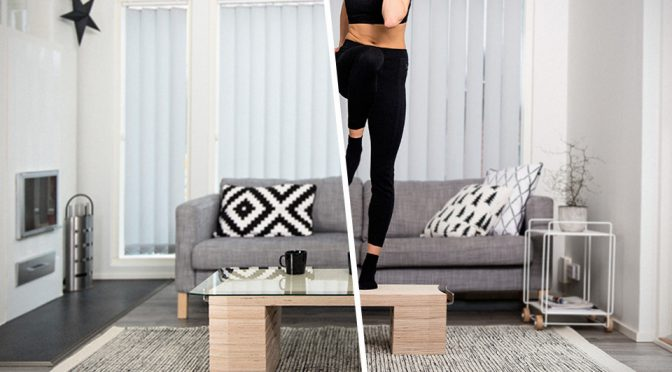 FitWood of Scandinavian Makes Fitness Equipment Hides In Plain Sight