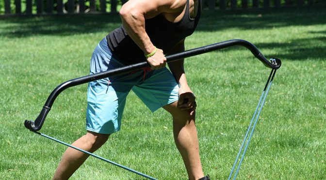 Gorilla Bow: Ancient Bow Reimagined into A Versatile, Mobile Gym Equipment