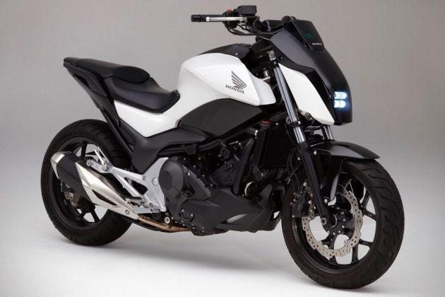 Honda Riding Assist Keeps Bike Upright