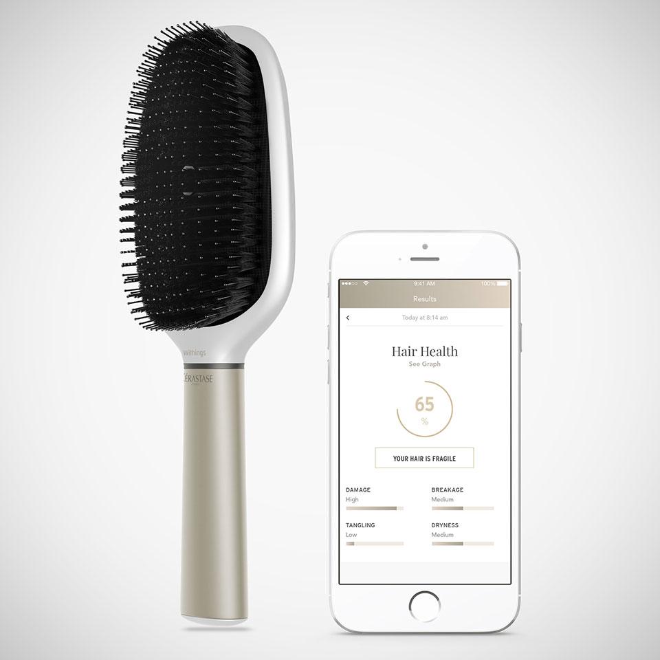 Kérastase Hair Coach Smart Hairbrush Powered by Withings