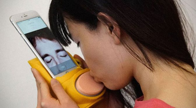 Kissenger Lets You Send Simulated Kissing Sensation To Your Love One
