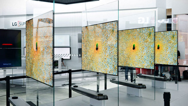LG Signature OLED TV W Series Ultra HD TV