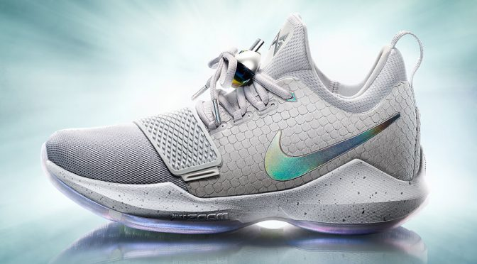 Paul George's First Nike Signature Shoe Has His Portrait On The Insoles