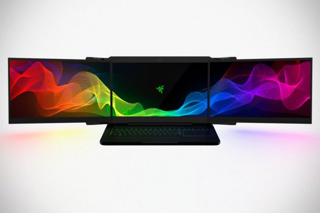 Project Valerie: Multi-monitor Gaming Laptop by Razer