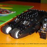 BRENT WALLER's custom LEGO batmobile 'tumbler' – completed!