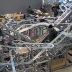city of tracks for 1200 Hot Wheels: Chris Burden's Metropolis