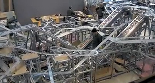 Chris Burden Metropolis II - Kinectic Art overview