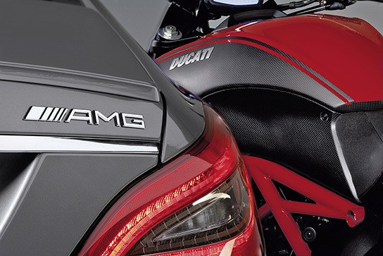 AMG CLS and Ducati 544px