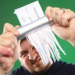 manual pocket-size shredder lets you shred on-the-go