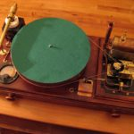steampunk record player is powered by steam, what else?