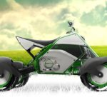 this concept Quad Bike is gunning for the green trail