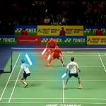 badminton match goes the Star Wars way