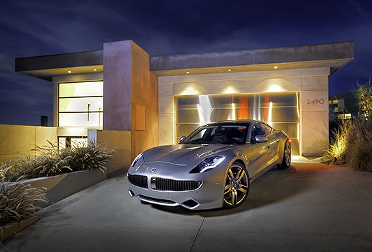Fisker Karma Hybrid Extended Range Electric Vehicle 544x368px