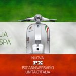 Piaggio Vespa PX 150 Unification of Italy Anniversary Edition