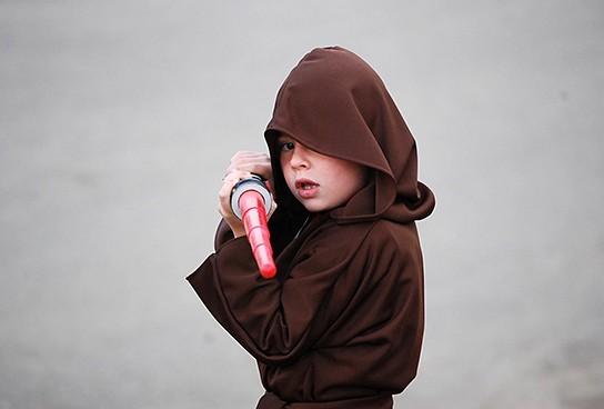 illustration: Jedi Kid 544x368px