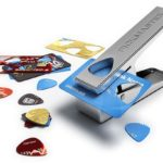 Pickmaster stamp out guitar pick out of credit cards