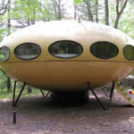 1968's 'UFO house' Turned Into A Holiday Accommodation