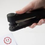 Stampler lets you stamp a smiley and staple at the same time