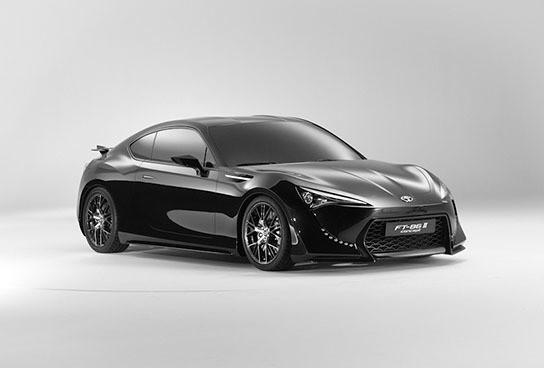 Toyota FT-86 II Concept studio shoot 544x368px