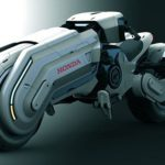 concept Honda Chopper: Star Wars or Akira-inspired?