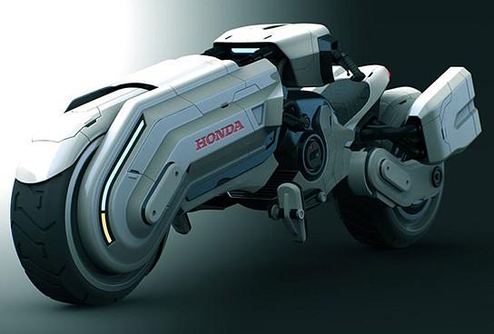 Honda Chopper Concept 544x368px