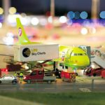 Knuffingen airport is the eighth zone in Miniatur Wunderland