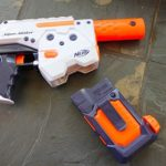 the evolution of water guns: swappable water magazines