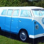VW Camper tent is nice, but won't appeal to China market