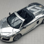 Audi R8 Spyder gets the chrome treatment for AIDS foundation