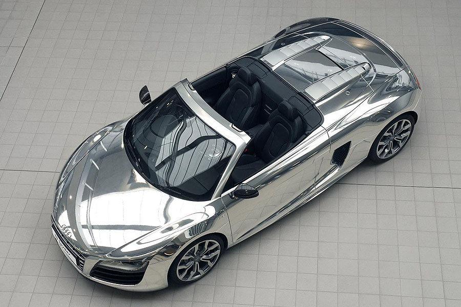 Audi R8 Spyder Chrome Edition 900x600px