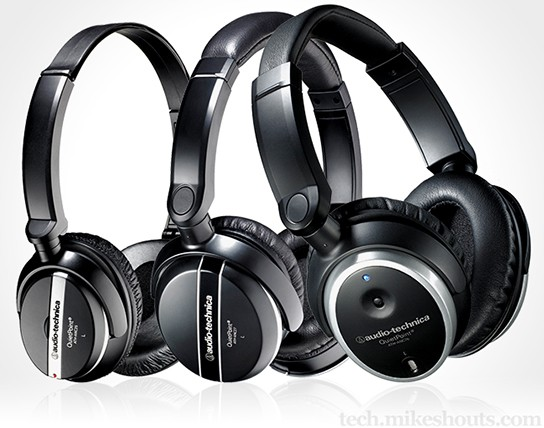 Audio-Technica QuietPoint Headphones 544x428px