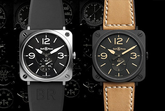 Bell and Ross BR S Heritage and Steel 544x368px