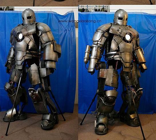 DIY Iron Man Mark I suit 544x488px