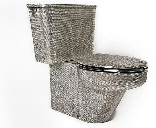 Let's Crystal It Swarovski Crystals Toilet Bowl 544x448px