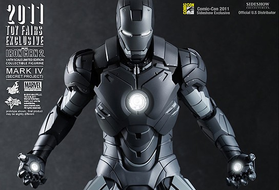 SDCC Iron Man Mark IV Special Project 544x370px