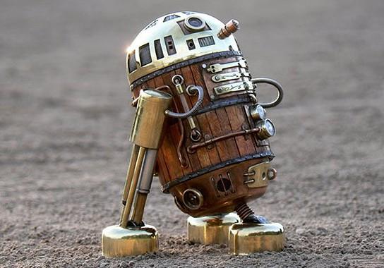 Steampunk R2-D2 544x380px