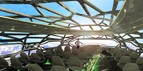 The future by Airbus - Concept Cabin 544x272px