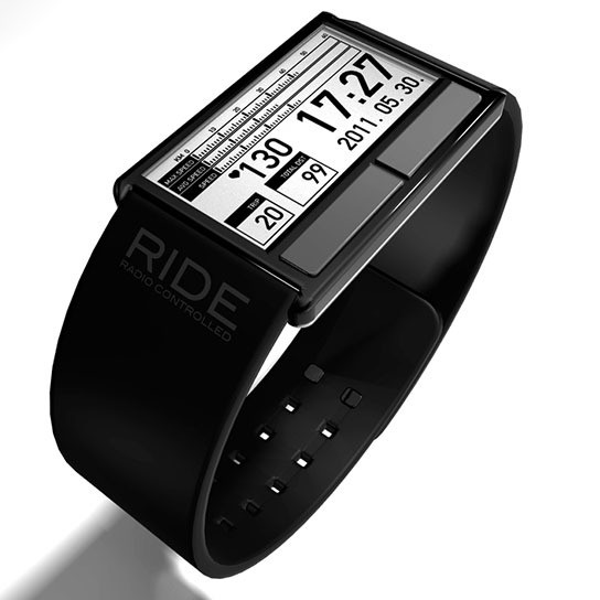 Bicycle Computer Concept Wristwatch 544x544px